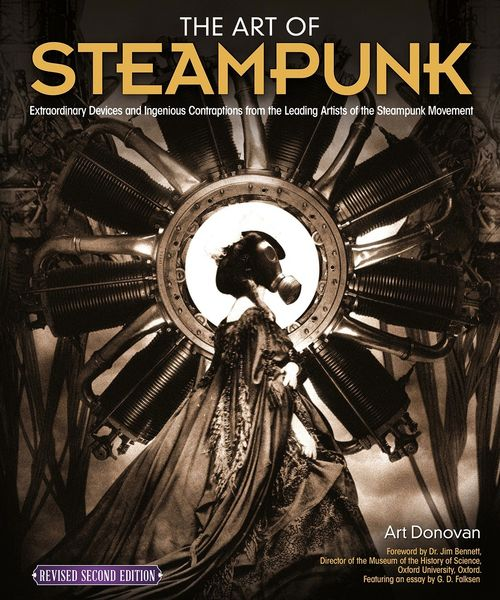 Art of Steampunk (second edition) has been reviewed