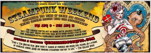 Steampunk weekender