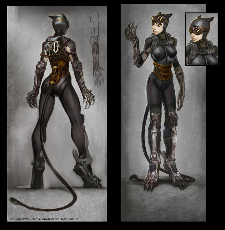 Steampunk Catwoman on Injustice