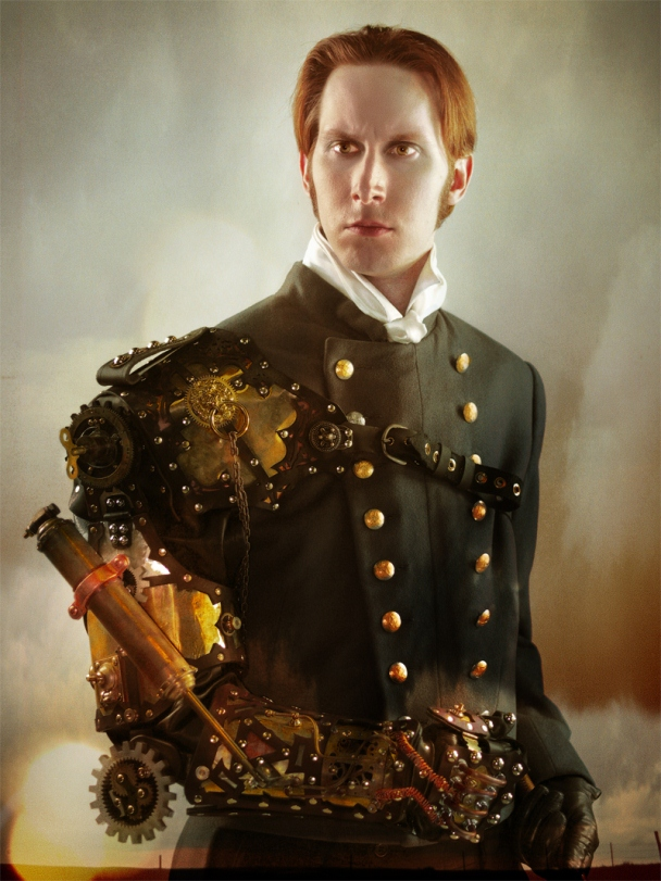 How could I ignore the Father of steampunk? Via: fashhionsmagz