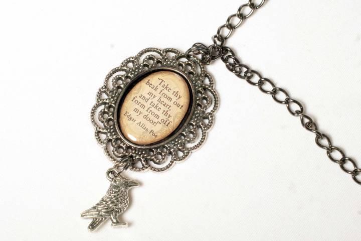 Always Alternative Raven Necklace Front