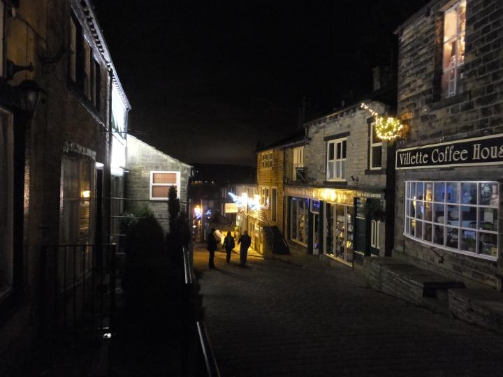 Haworth by night