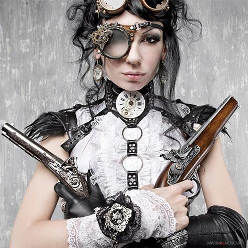 unknown steampunk photographer