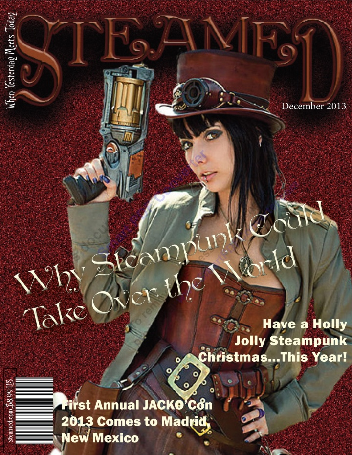 Melody Prather Steamed magazine cover