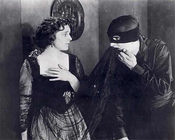 Zorro in 1920s