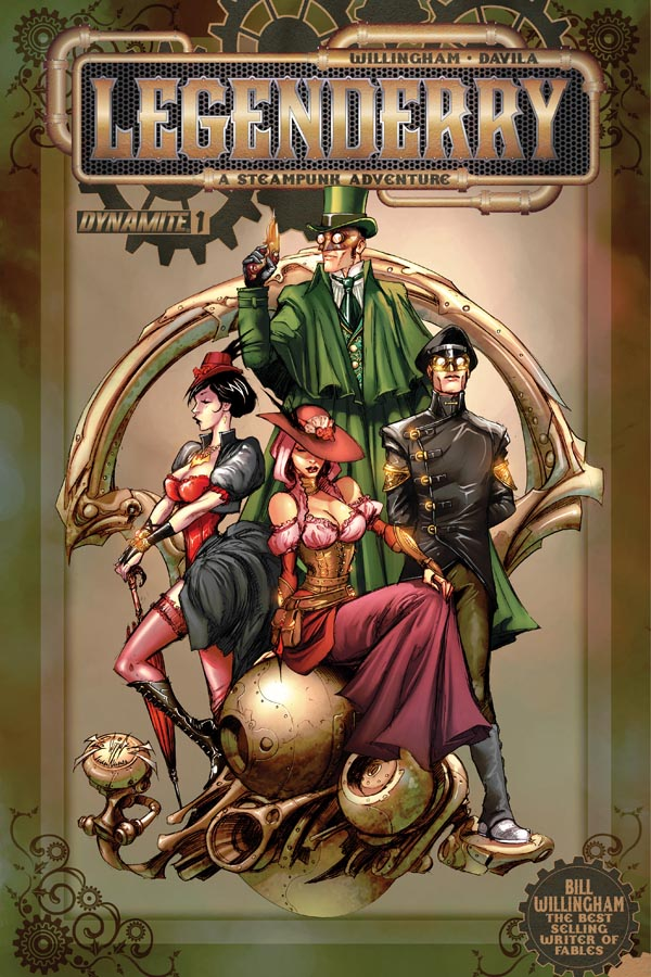 Legenderry steampunk comic series