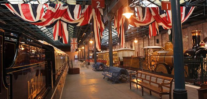 National Railway Museum royal trains at York
