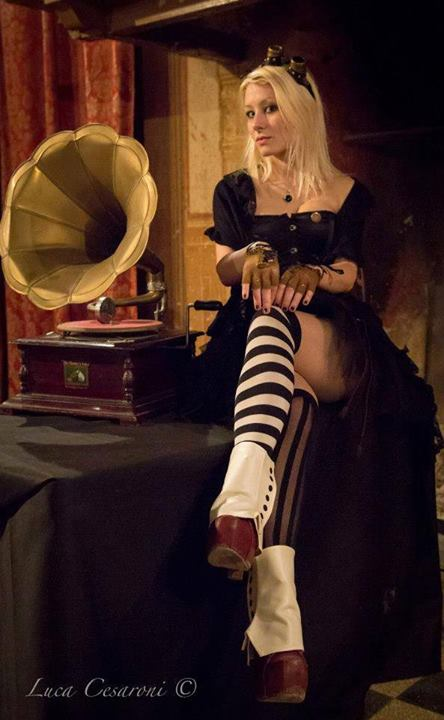 Madame Anais Noir by Luca Cesaroni