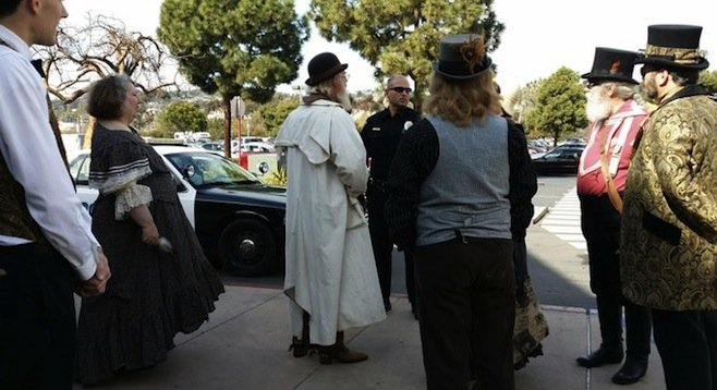 steampunks run-in with the law