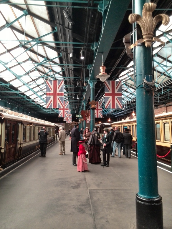 steampunk at the NRM York