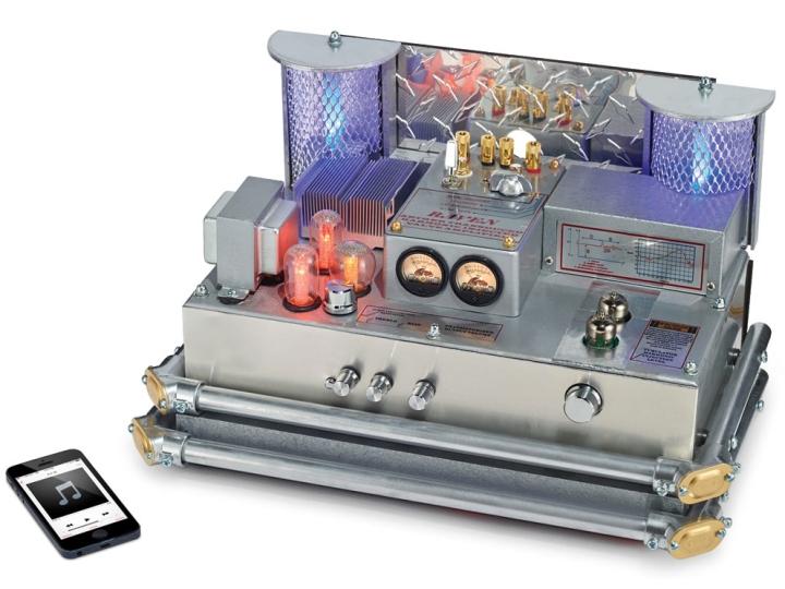 Bluetooth Steampunk amplifier