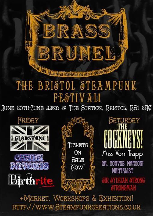 Bristol Steampunk Festival poster