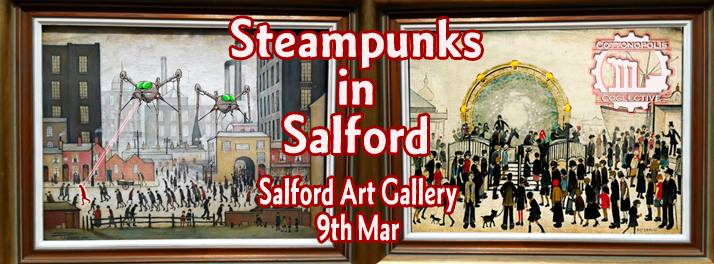 steampunks in Salford event