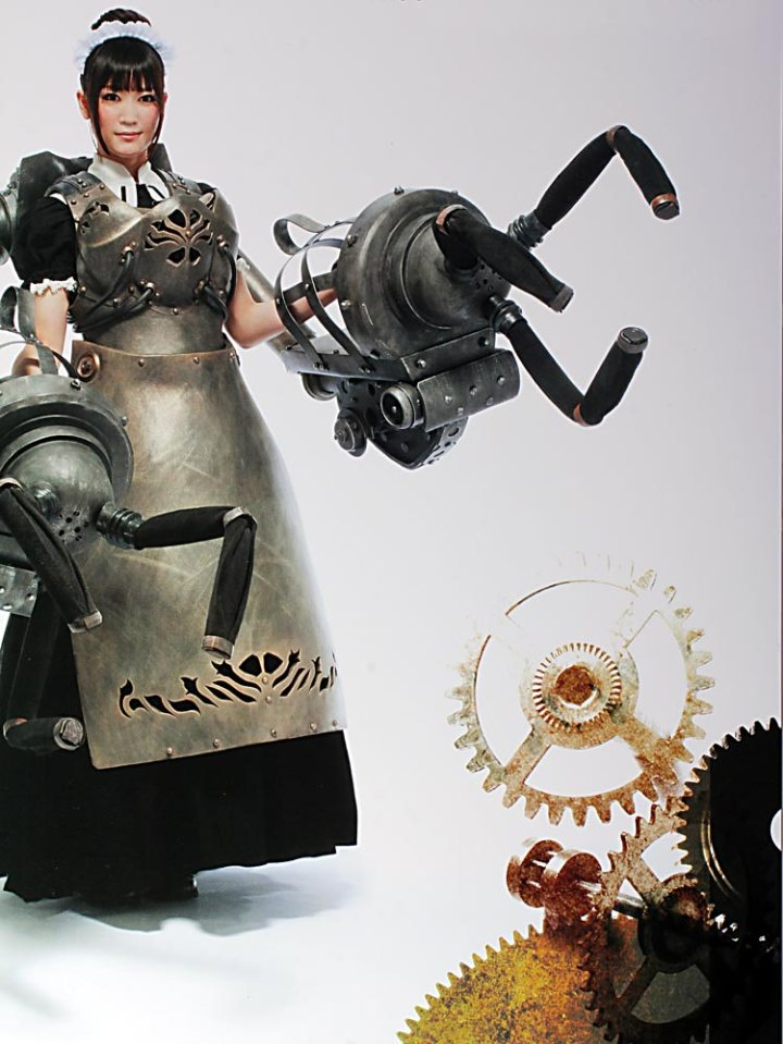 Steampunk Style robotic armour