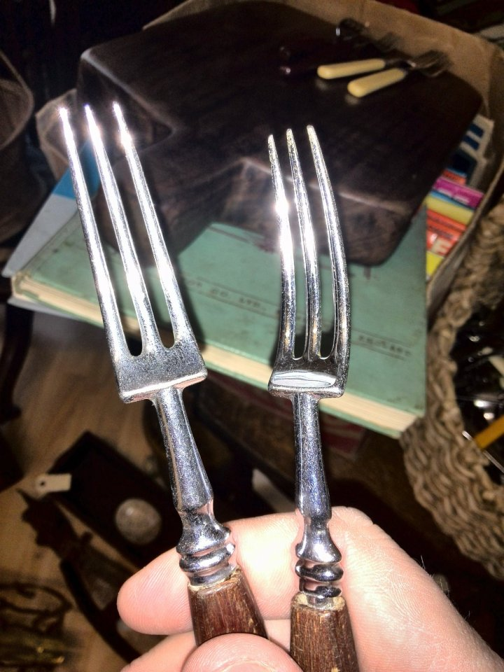 The new forks that I found in Sheffield Antiques Centre
