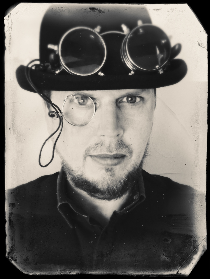 steampunk self portrait