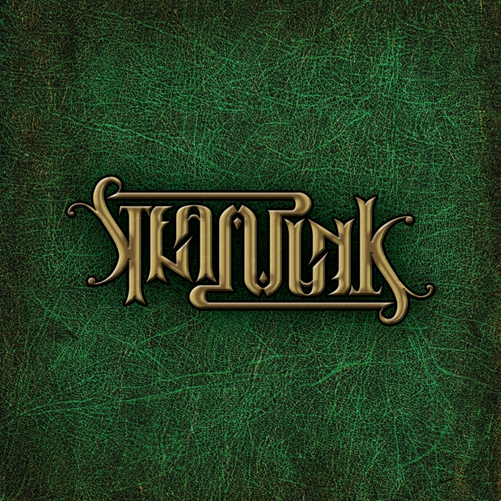 steampunk ambigram
