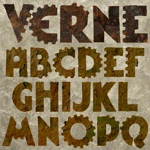 Verne font