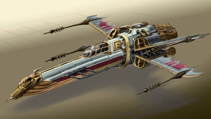 Victorian Star wars X-Wing