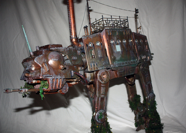 Victorian Star Wars All Terrain Armoured Transport