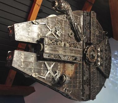 Victorian Star Wars Millenium Falcon