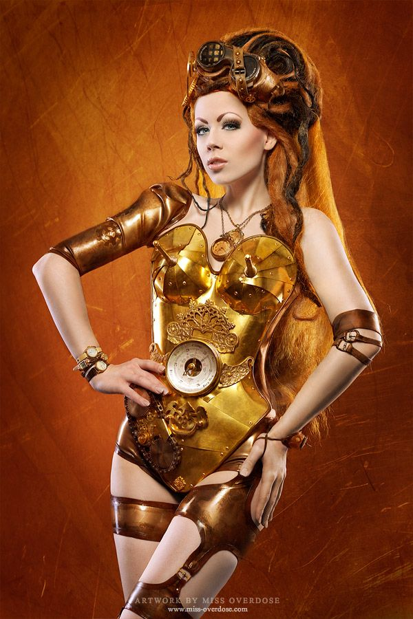 steampunk star wars cosplayers 3PO