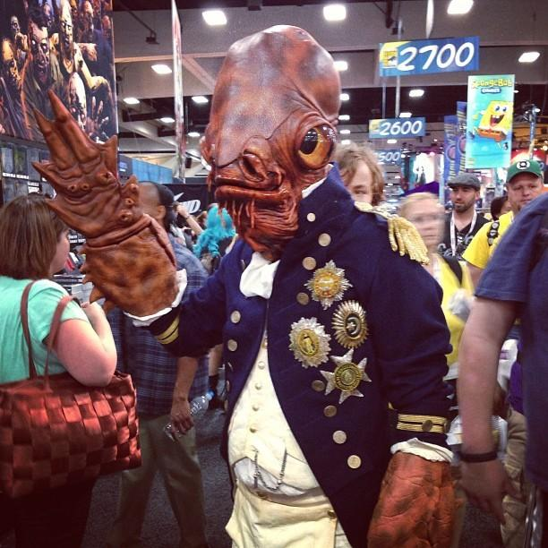 steampunk star wars cosplayers Ackbar