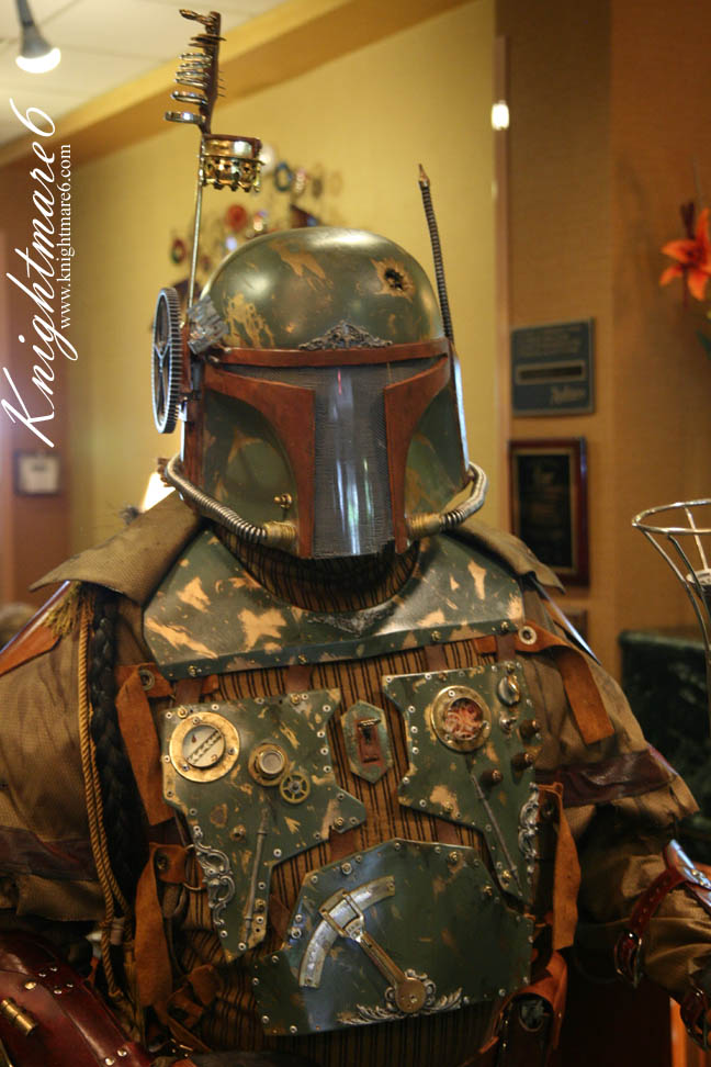 steampunk star wars cosplayers Boba Fett