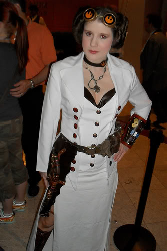 steampunk star wars cosplayers Leia