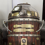 steampunk star wars cosplayers R2
