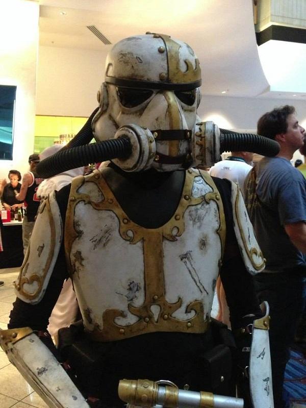 steampunk star wars cosplayers Stormtrooper