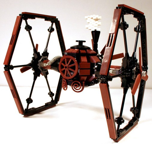 Victorian Star Wars TIE fighter