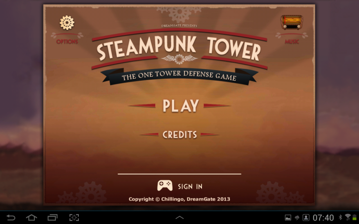 Steampunk Tower app game image 1