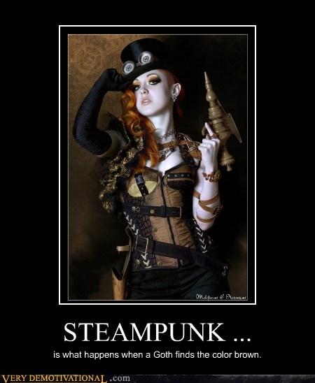 Steampunk goths
