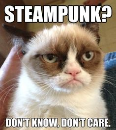 Grumpy Cat steampunk