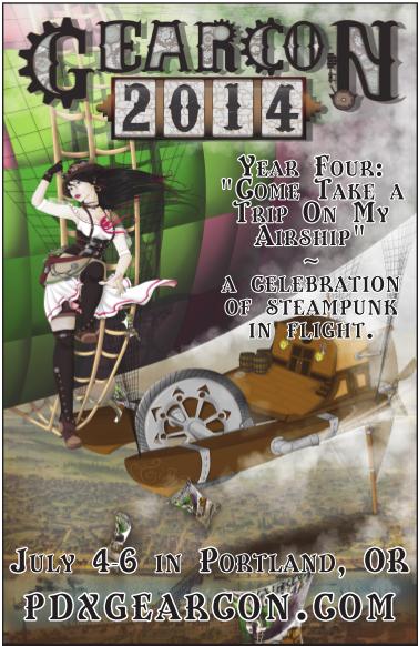 Gear Con 2014 poster