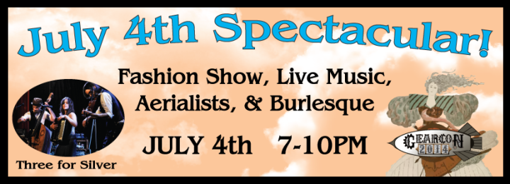 Burlesque shows at Gear Con