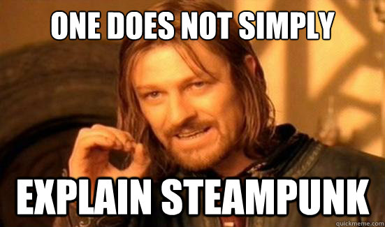 """One does not simply"" meme"