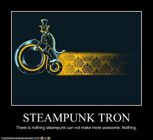 Tron bikes Penny Farthing