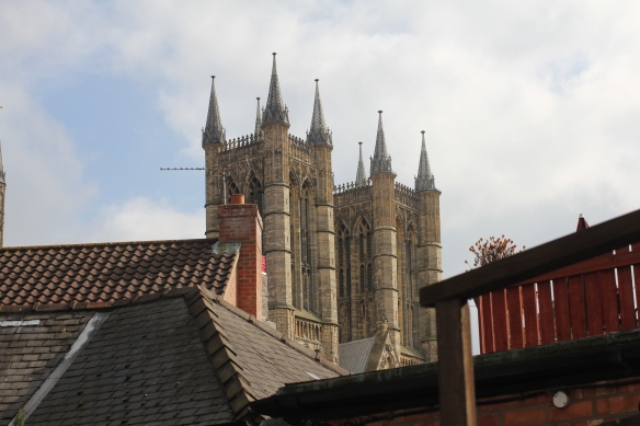 Lincoln Cathedral viewed from Bailgate