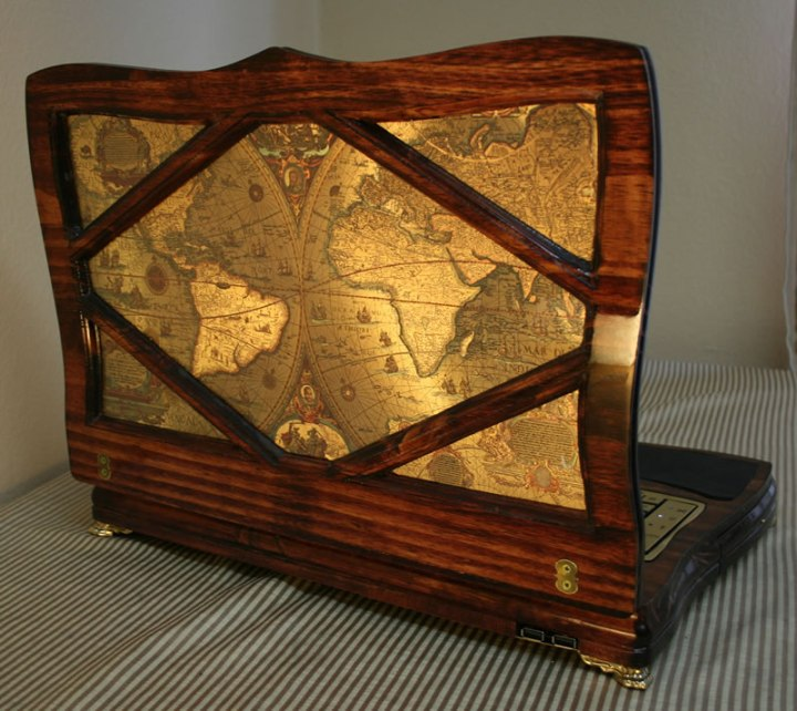 Datamancer steampunk Laptop 2.0