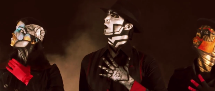 Steam Powered Giraffe perform new music in the game