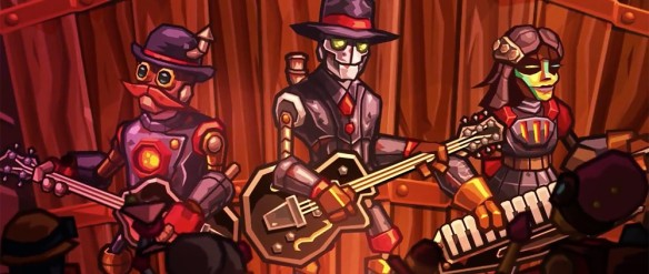 Steam Powered Giraffe will appear in Steam World Heist