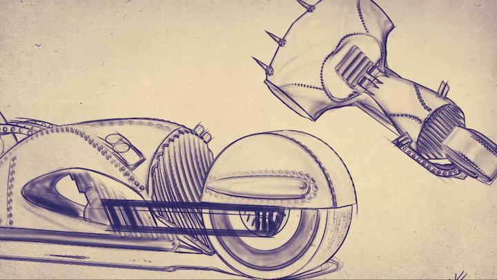 Rivet - Concept sketch