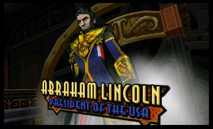 Wil Wheaton plays Abraham Lincoln