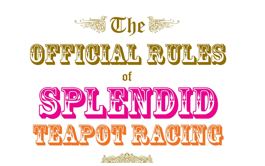 Teapot Racing rules header