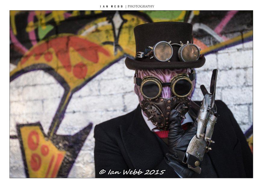 Steampunk Freddy Krueger Photo by Ian Webb, used with permission